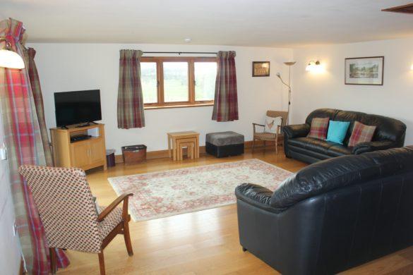 Shropshire accommodation lounge